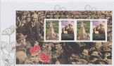 03/11/2008 Australia FDC 90th Anniversary of End of World War I Miniature Sheet